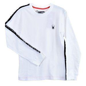 NWT Boys (8-20) SPYDER Cotton Long sleeve T- Shirt